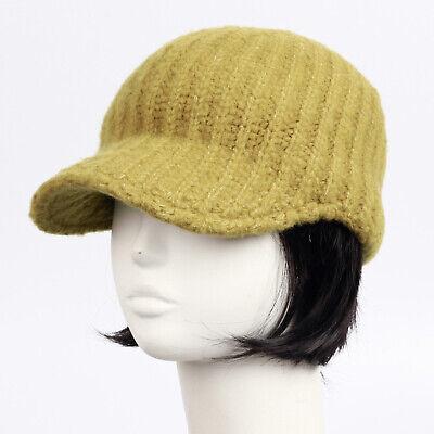 BRIM BEANIE VISOR chic unisex Hats knit fall Cap men womens cadet new 1035 gray