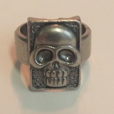 THE PHANTOM Metal Skull Ring Goth Jewelry 1996 Movie Promo Comics Superhero - Goth Superhero