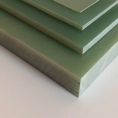 34 G 10 Glass Phenolic Plastic Sheet- Priced Per Square Foot- Cut To Size