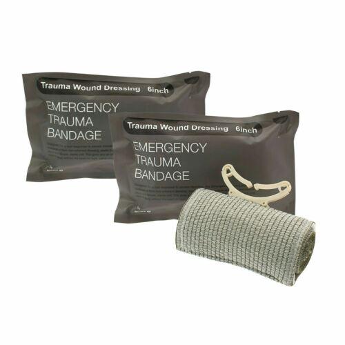 """6"""" Trauma Bandage Emergency Israeli Style Battle Wound Dres"""