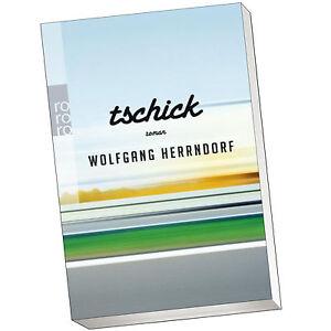 TSCHICK | WOLFGANG HERRNDORF | Roman | Taschenbuch (Buch)