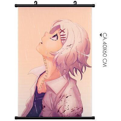 Wandbanner Suzuya Juuzou Tokyo Ghoul Wallscroll Rollbild Kakemono Stoff Poster