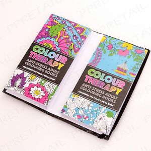 Travel Size Colour Therapy Anti Stress Adult Colouring Set