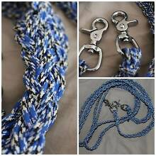 PARACORD REINS WITH TRIGGER SNAPS Nyngan Bogan Area Preview