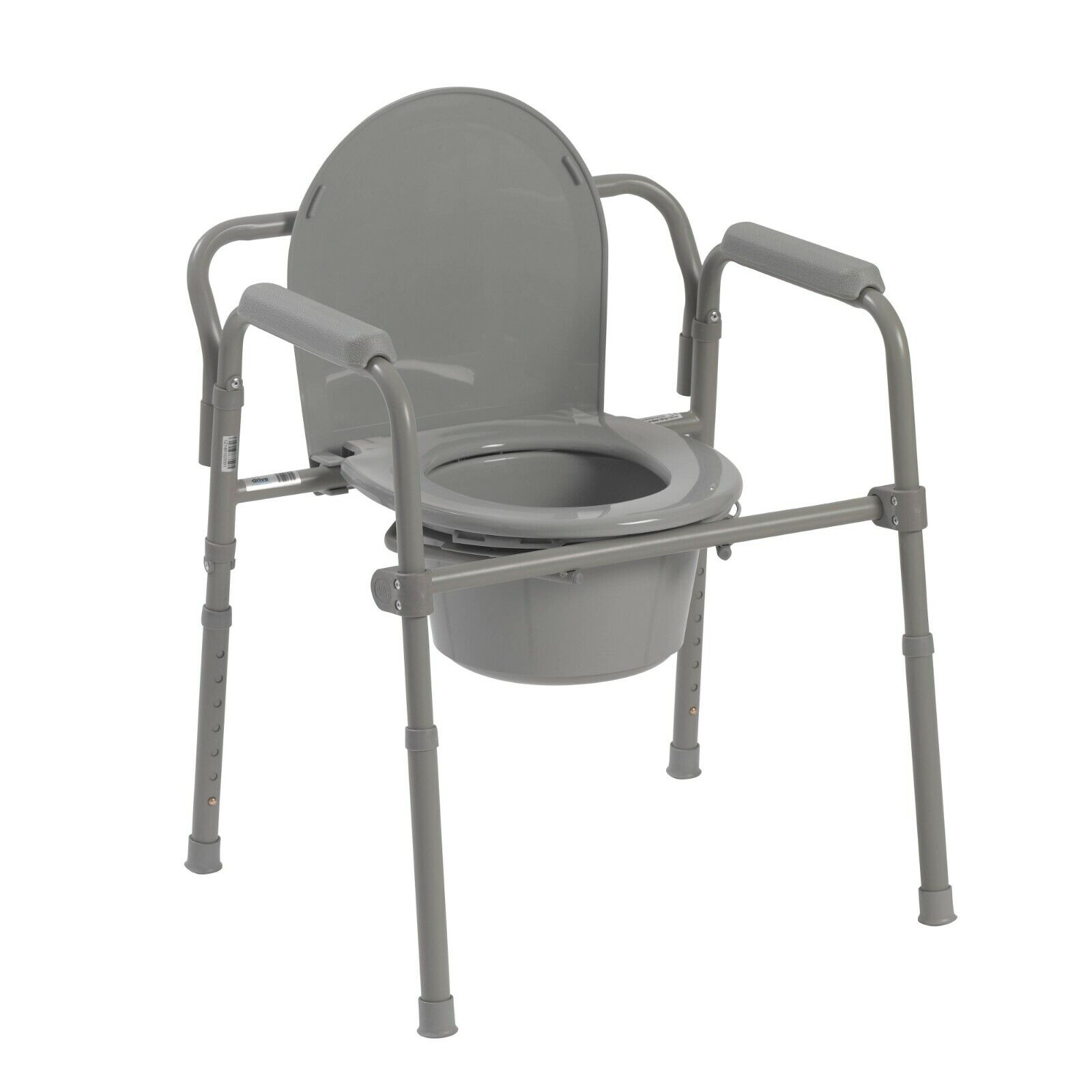 toilet seat potty chair folding commode chamber