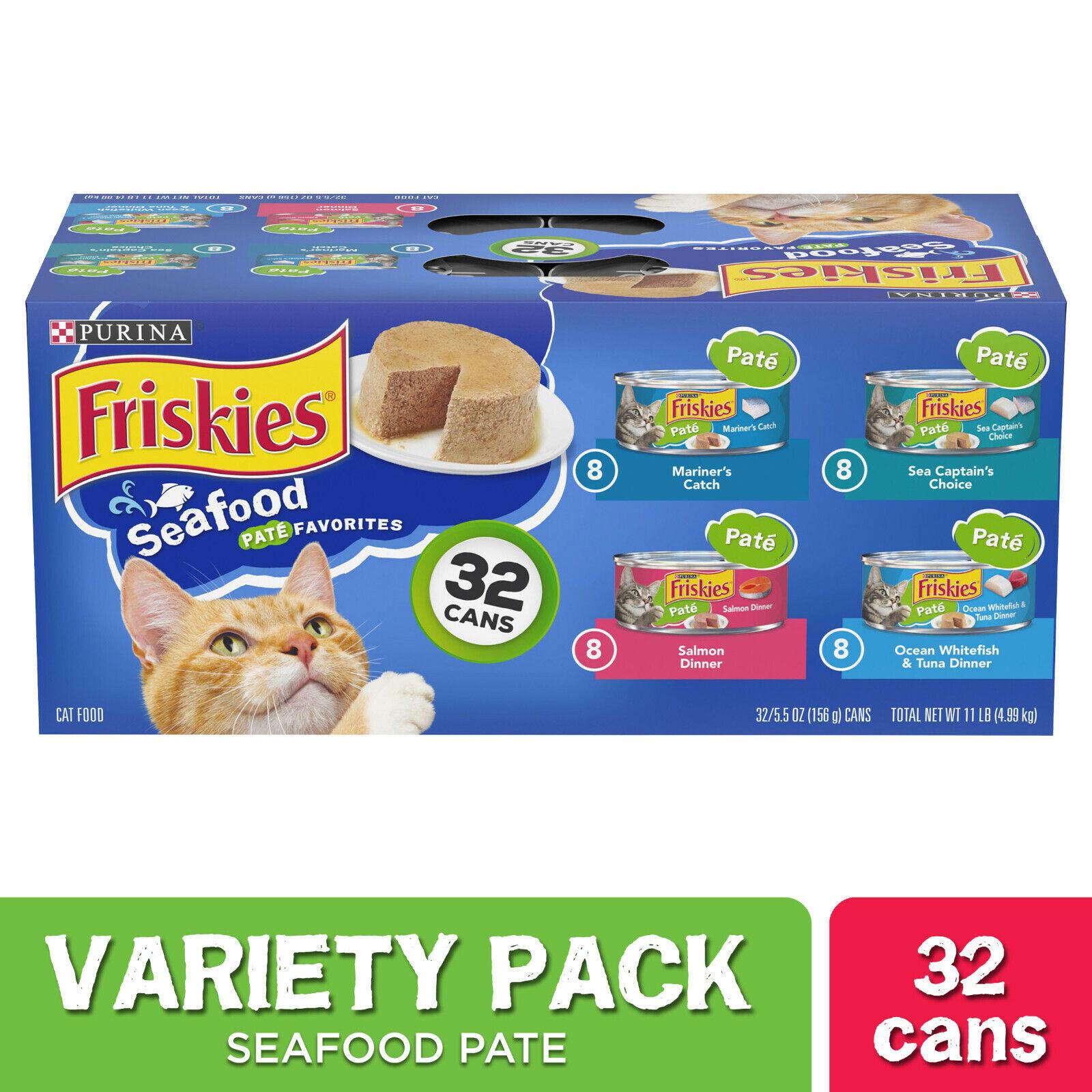 (32 Pack) Friskies Pate Wet Cat Food ...