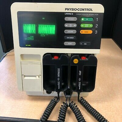 Physio-control Lifepak 9 Cardiac Monitor Defibmonitor
