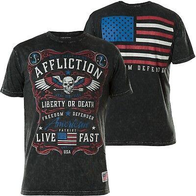AFFLICTION T-Shirt Dont Tread Schwarz T-Shirts ()