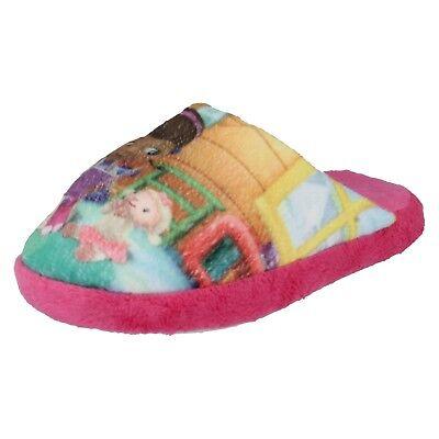Mädchen Innen disney Doc Mcstuffins Slip auf Winter - Doc Mcstuffin Schuhe
