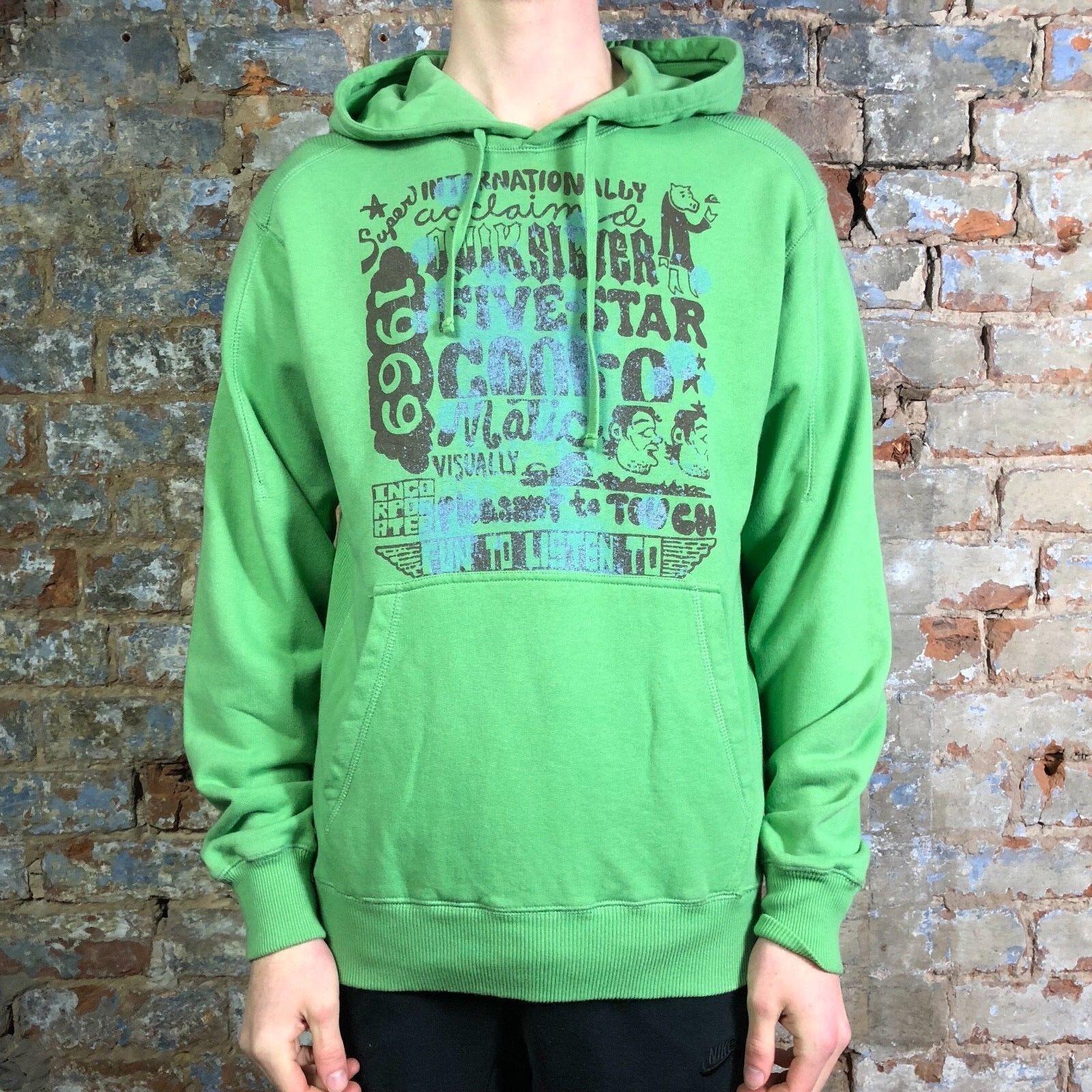 XL Quiksilver Vintage Gladiators Hoodie Hooded Sweatshirt Brand New in size M,L