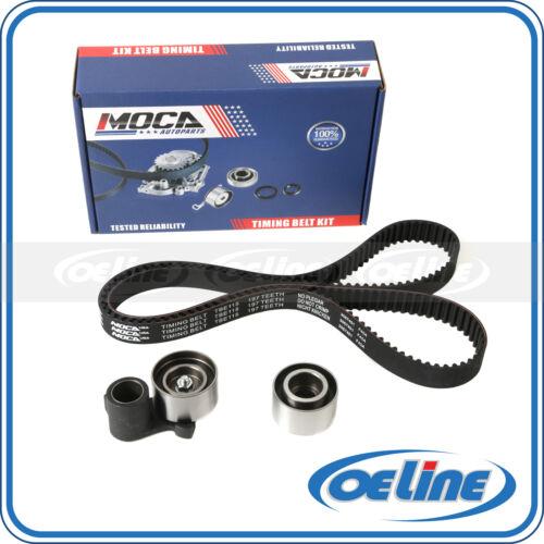 Timing Belt Kit Water Pump w//Tensioner Gaskets Grommets Fit 1998 1999 2000 2001 2002 2003 2004 Honda Odyssey//Pilot Acura CL//MDX//TL 3.0L 3.2L 3.5L