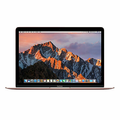 "Apple MacBook 12"" Retina Display MRQP2LL/A - Intel Core i5 - 8GB - Rose Gold"