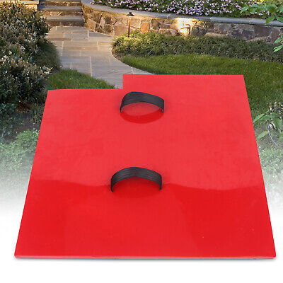 5858cm Seamless Texture Stamp Mat Skin Concrete Cement Stamping Tool Red