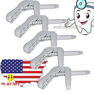 5 Pcs Dental Composite Gun Dispenser Applicator For Unidose Compules Carpules