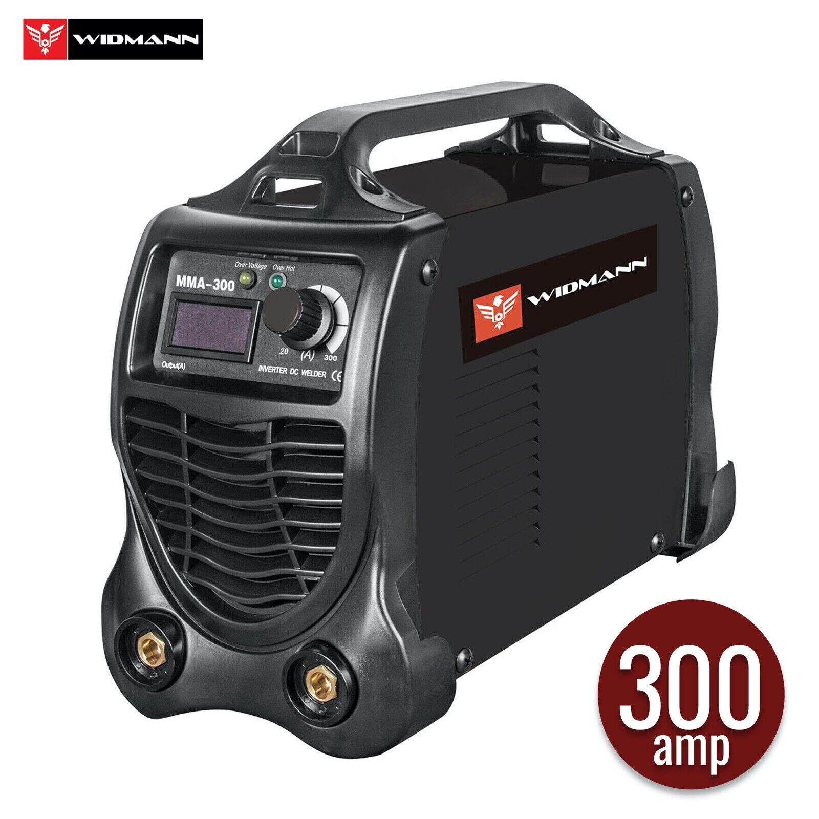 Widmann MMA-300: Elektro Schweißgerät 300A IGBT-Wechselrichterschweißmaschine