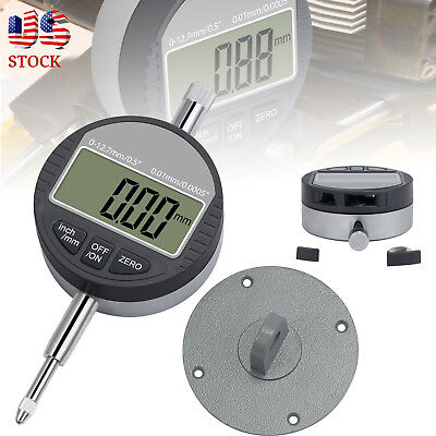 0.01.0005 Digital Electronic Dial Probe Indicator Test Gauge Ranging 0-12.7mm