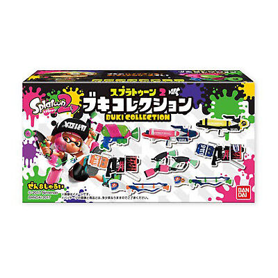 Bandai Splatoon 2 Weapon Collection Volume 1 Blind Box Figure NEW Toys 1 Figure - Weapons Toys