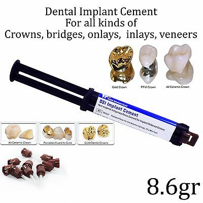 Dental Implant Cement Crown Bridge Veneers Onlays Inlays Automix Self Adhesive