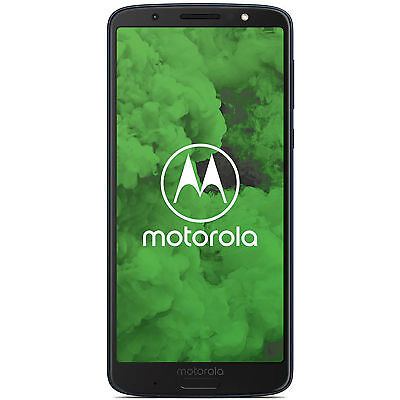 Motorola Moto G6 Plus XT1926-7 64GB Unlocked GSM 12MP Phone - Deep Indigo
