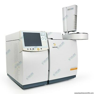 Refurbished Varian 450-gc With Cp-8400 Autosampler And One Year Warranty