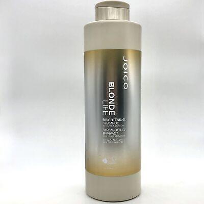 Joico Blonde Life Brightening Nourishing & Illuminating Shampoo 1L #7461 NEW