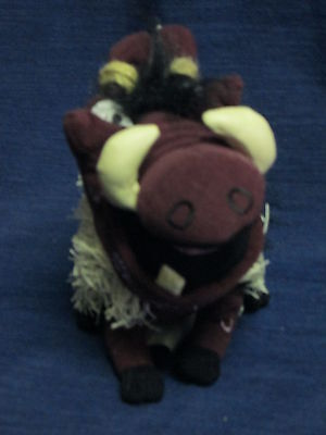 Nwt Disney Store Beanbag Plush The Lion King Pumbaa Stage Show New W Tag