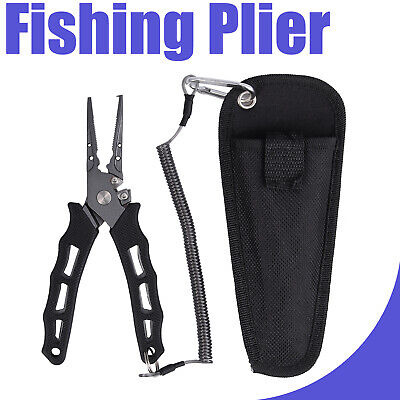 Quarrow Fishing Pliers Turtle 8 Pocket All in One Tool Perfect For Ice Fishing