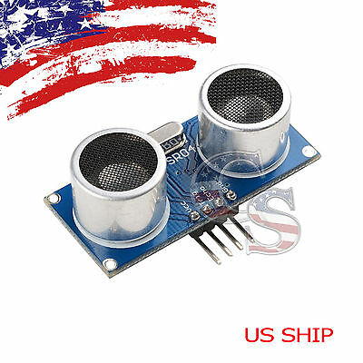1x Ultrasonic Module Hc-sr04 Distance Transducer Sensor For Arduino Robot