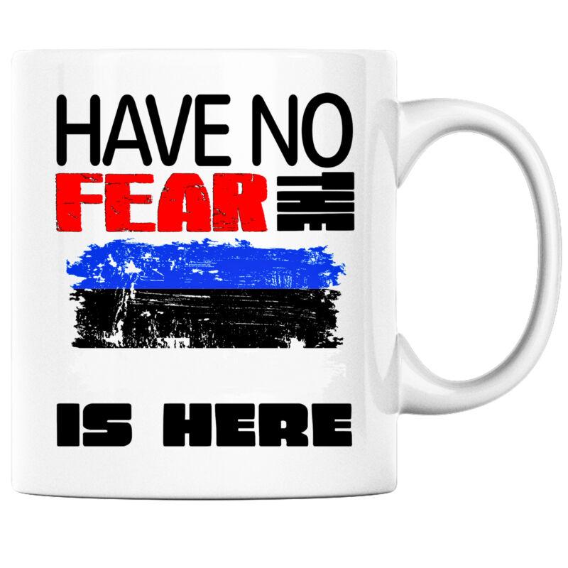 Have No Fear the Estonian is Here Funny Coffee Mug Estonia Heritage Pride