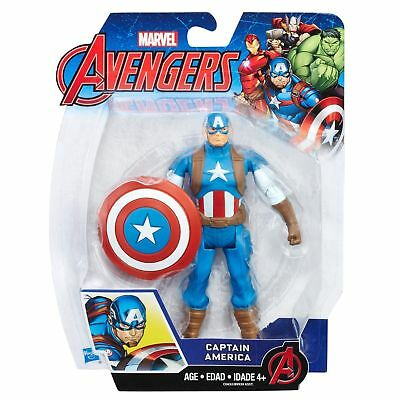 """CAPTAIN AMERICA ( 6"""" ) HARD-TO-FIND ( 2016 ) MARVEL AVENGERS ACTION FIGURE"""