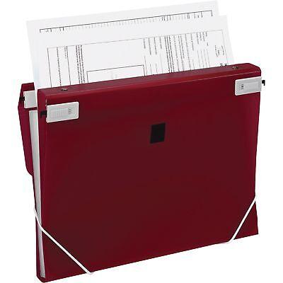 "Samsill 3-in-1 Binder Organizer 1"" Capacity 8-1/2""x11"" Burgundy 10141"