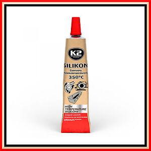 21g High Temperature Silicone +350°C Heat Resistant Glue Adhesive Sealant Red