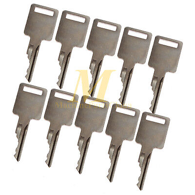 10 Ignition Keys For Bobcat Case Skid Steer Excavator 751 753 763 773 More D250