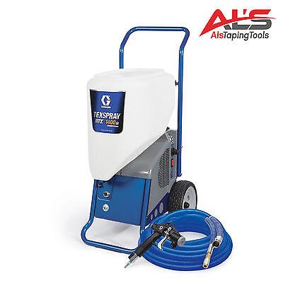 Graco Texspray Rtx 1400si Portable Drywall Texture Sprayer - New
