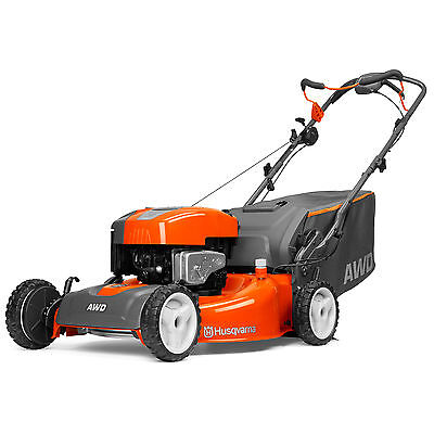 Husqvarna All-Wheel Drive 22-Inch Cutting Width Walk Behind Mower | HU725AWDBBC