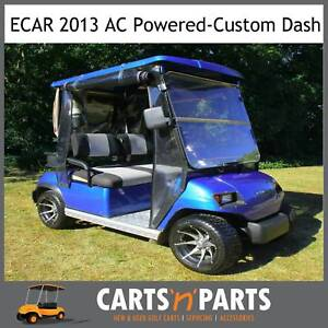 ECAR 2013 AC Power 2 Seat Golf Cart Buggy deluxe package Hope Island Gold Coast North Preview