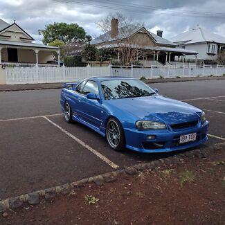 2001 Nissan Skyline R34 GTT Toowoomba Toowoomba City Preview