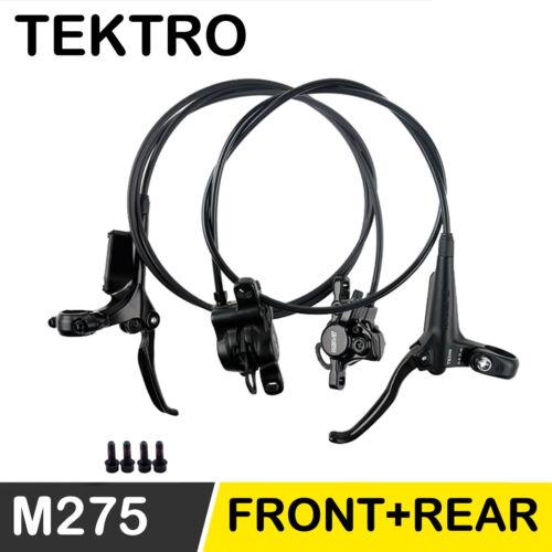 TEKTRO HD M275 Hydraulic Disc Brake MTB Bike Brake Set Front Rear 800MM 1450MM