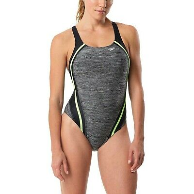 NEW W/ TAGS NWT NEON Speedo Women's Quantum Splice One Piece Swimsuit size 8