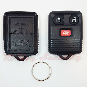 New F150 F250 F350 Replacement Alarm Remote Shell Keyless Key FOB Case 3 Buttons