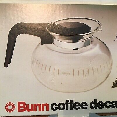Bunn Porcelain Scratch Resistant Coffee Pot Warmer And Decanter. Stays Hot.