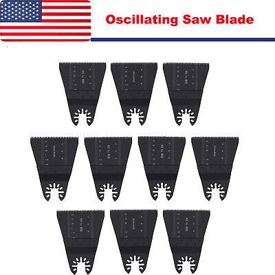 10pcs Saw Blade Oscillating Multi Tool For Fein Multimaster Bosch Multitool Us