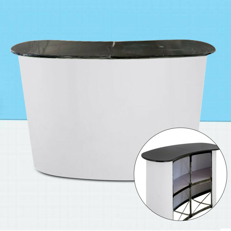 Pop Up Table Tension Frame Display Portable Trades Show Pop Up Promotion Retail