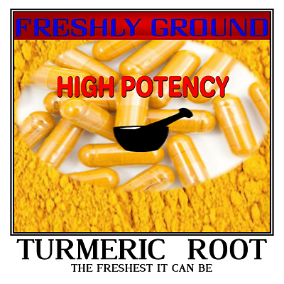 TURMERIC ROOT Tumeric Raw Fresh Ground Curcumin Longa 100 Ve