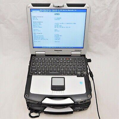 Lot of 2 Panasonic TOUGHBOOK - Core i3-2310M 2.1GHz, 4GB DDR3, No OS/HDD/AC/Batt