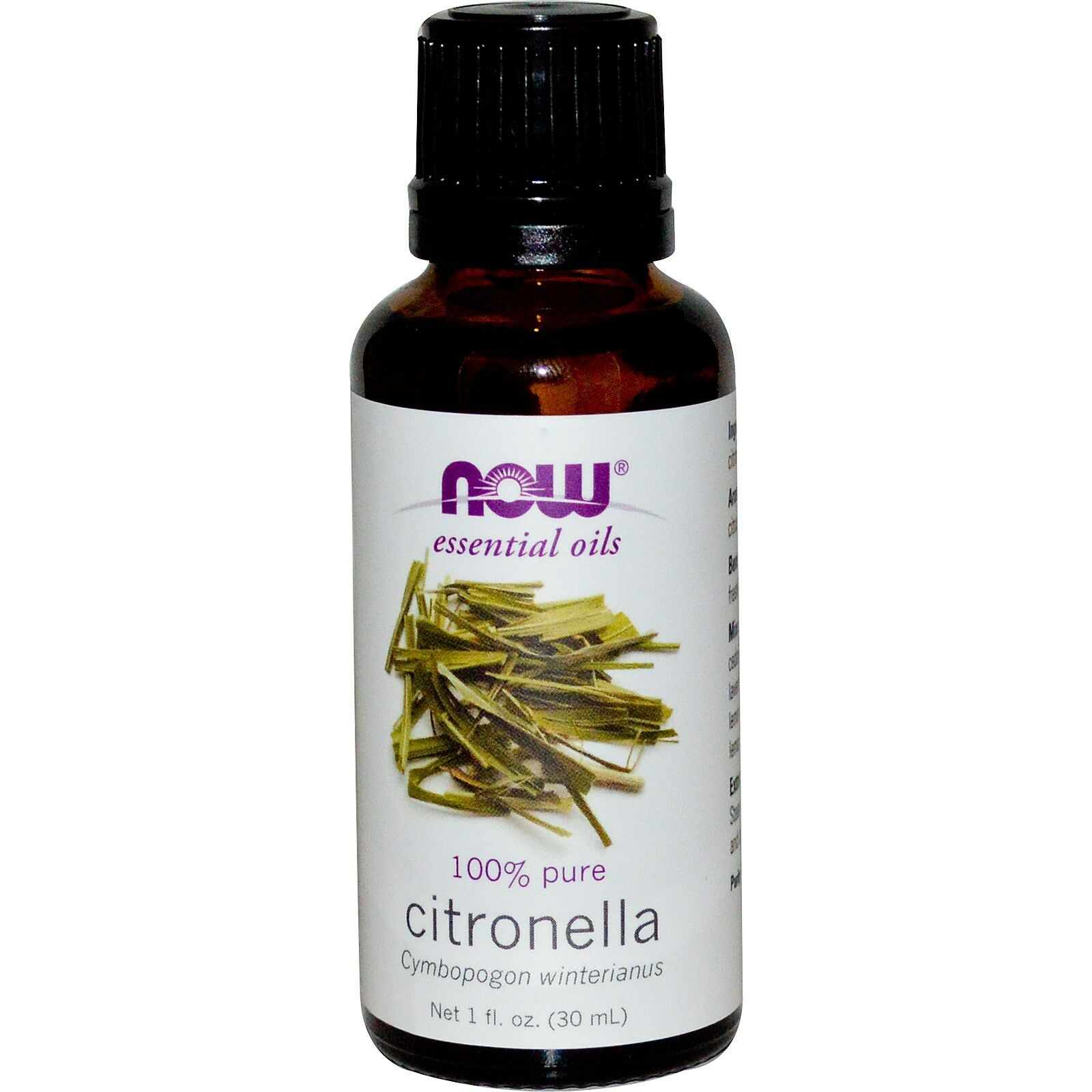 NOW Foods 1 oz Essential Oils and Blend Oils - FREE SHIPPING! Citronella