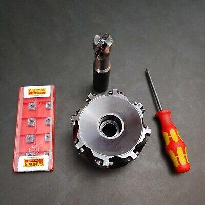 """LOC297 Sandvik 3//4/"""" Milling Cutter TM390-548428"""