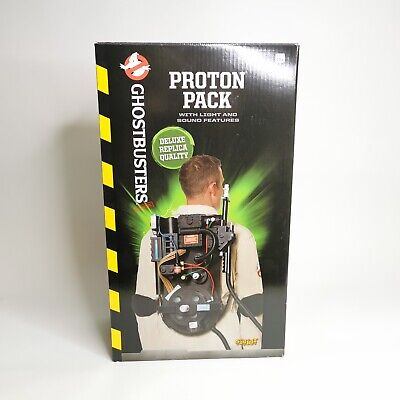 Spirit Halloween Ghostbusters Deluxe Replica Proton Pack Lights/Sound New In Box