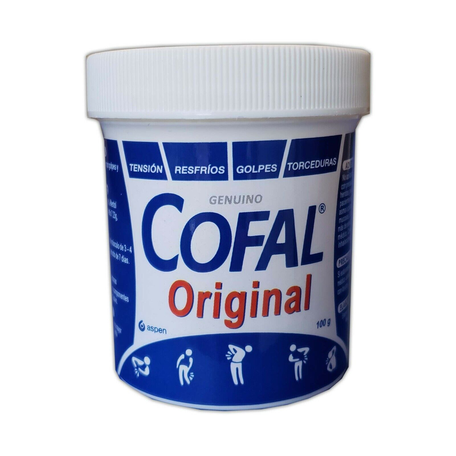 COFAL ORIGINAL GENUINO PARA DOLOR 2.1 OZ FOR MUSCULAR AND BACK PAIN