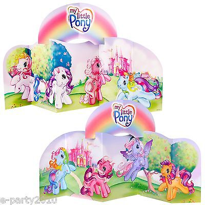 MY LITTLE PONY CENTERPIECE ~ Birthday Party Supplies Room Table Decorations MLP